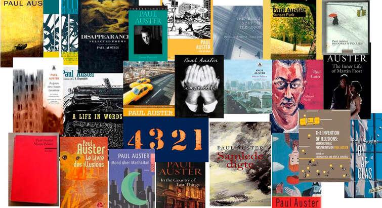 Paul Auster bøger